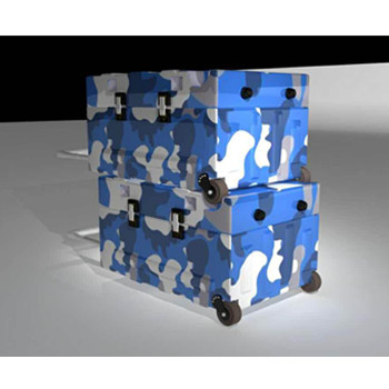 与中国电科合作运输箱项目