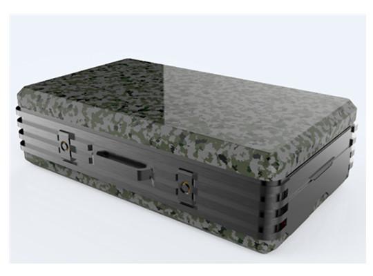 与中国电科合作碳纤通信设备箱